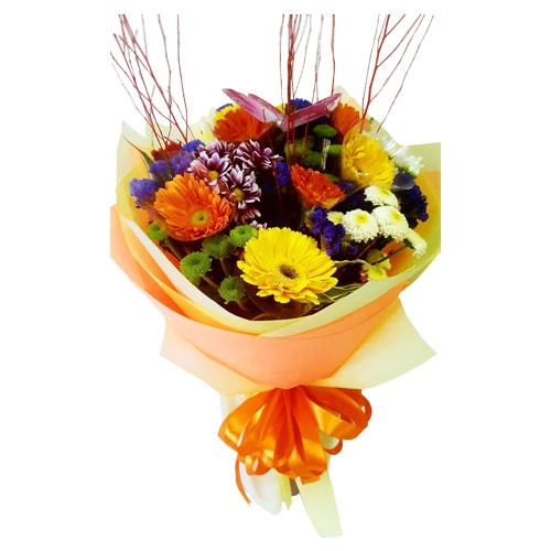 Image result for gerbera-bouquet holland tulips